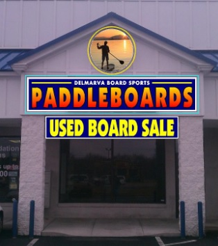 USED PADDLE BOARDS
