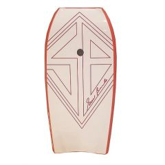 Scott Burke AirCal 40 Red/White Body Board