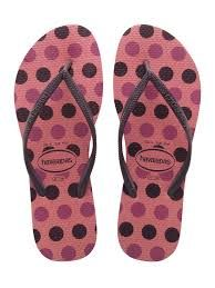 Coral Spotted Havainas Flip Flops