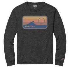 SLO•VIBES L/S TEE - CHARCOAL