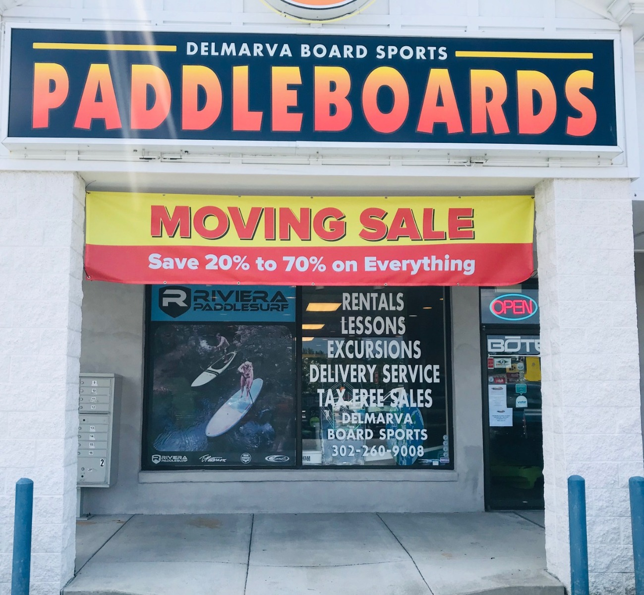 Store Moving Banner